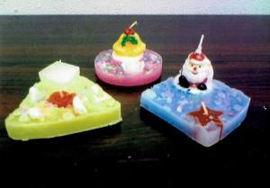 男の子・女の子:手作りキャンドル